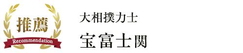 大相撲力士 宝富士関